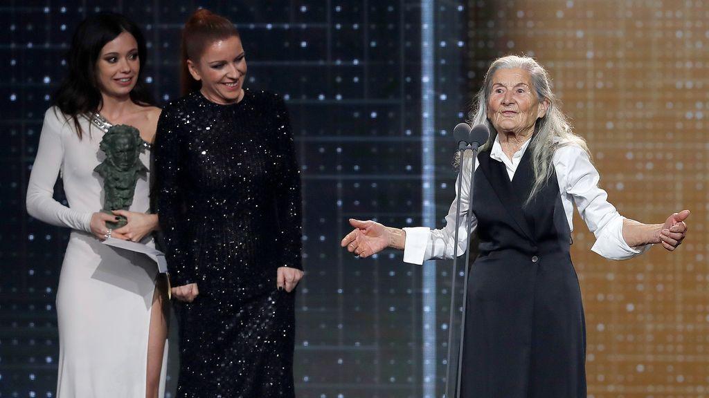 Mejor actriz revelación, Benedicta Sánchez por 'Lo que arde'