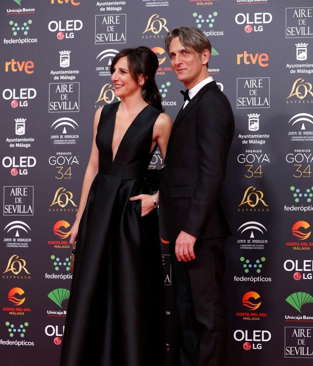 Ernesto Alterio y Malena Alterio en la alfombra roja de los Premios Goya 2020