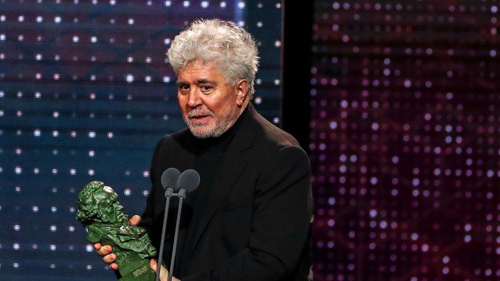 Goya al mejor guion original para Pedro Almodóvar por 'Dolor y gloria'