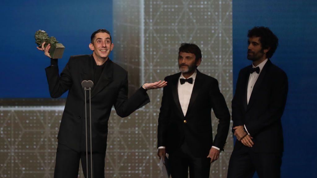 Goya al mejor actor revelación, Enric Auquer por 'Quien a hierro mata'