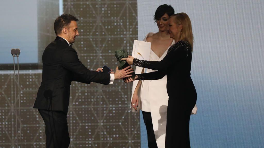El Goya al mejor actor de reparto es para Eduard Fernández por Mientras dure la guerra