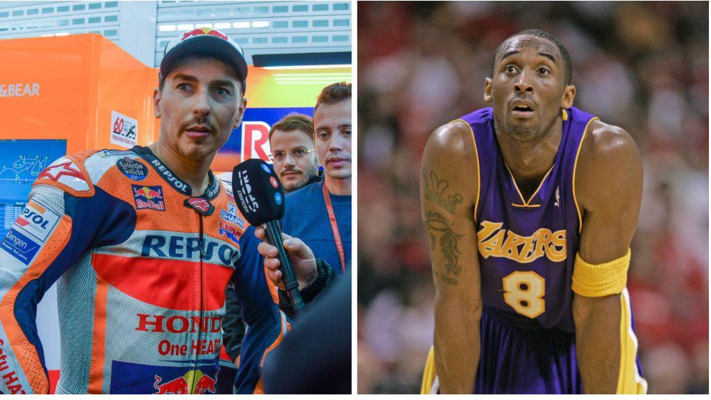 """""""Evitemos los helicópteros hasta que sean más seguros"""", el mensaje de Jorge Lorenzo tras la muerte de Kobe Bryant"""