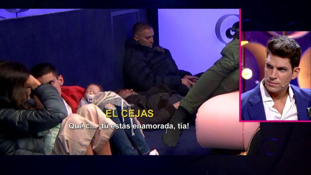 Diego reacciona a la pillada de Estela