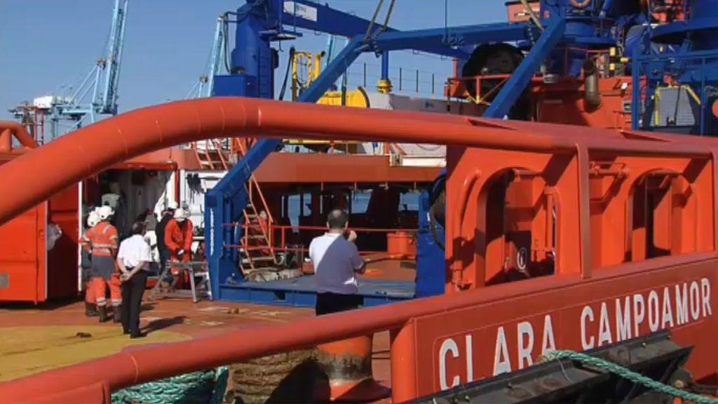 Se suman diez barcos a la búsqueda de los marineros desaparecidos en aguas de Marruecos