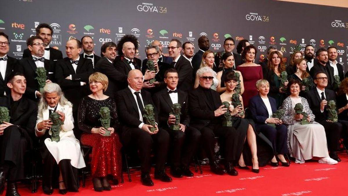 Lista completa de los premiados de la 34ª edición de los Premios Goya