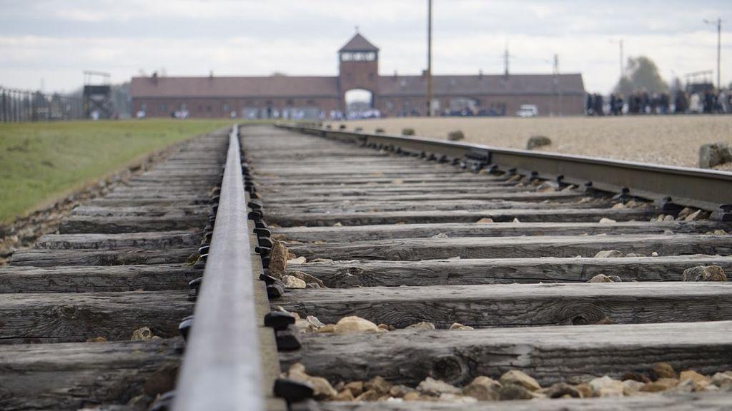 La 'puerta del infierno' de Birkenau