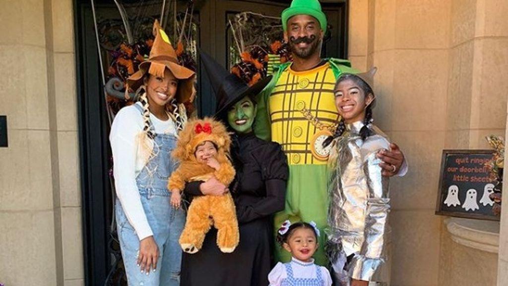 Kobe Bryant, un padre de familia dedicado a sus cuatro hijas