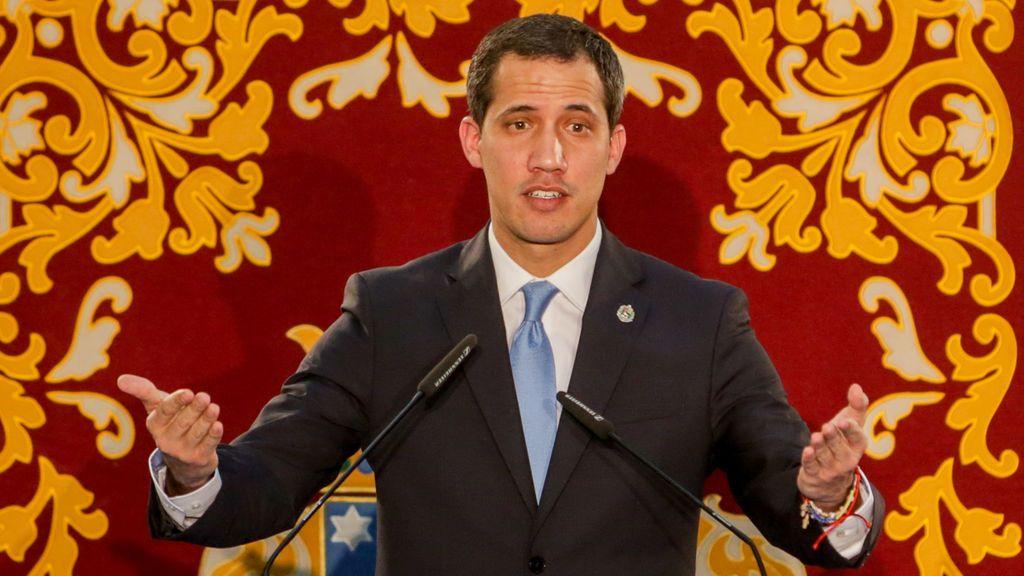 """Guaidó espera reunirse con Sánchez en breve: """"Coincidimos en la necesidad de enfrentarnos a la dictadura"""""""
