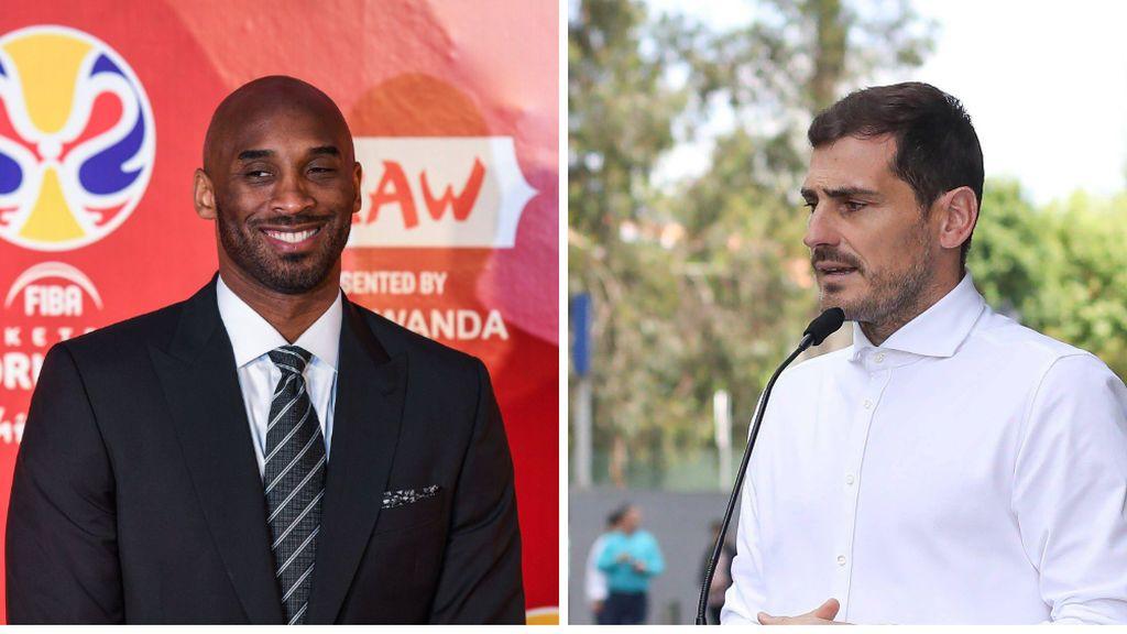 """""""Me acabo de quedar pálido, sin palabras"""": el mensaje de Iker Casillas tras conocer la muerte de Kobe Bryant"""