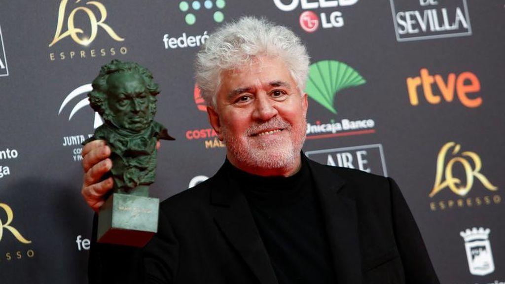 """""""Esta en serias vías de extinción"""": Almodóvar pide """"protección de Estado"""" para el cine de autor"""