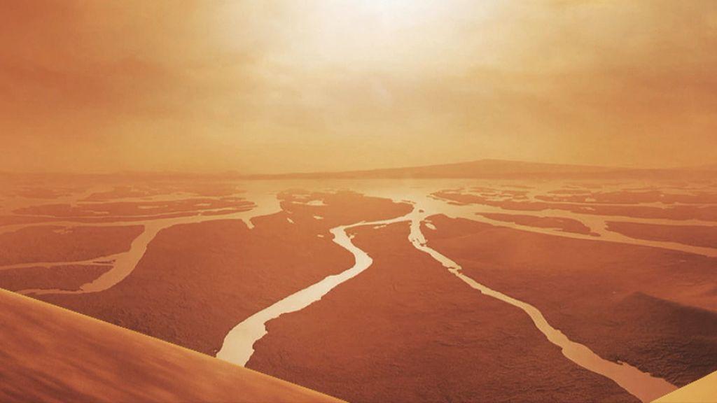 Titán, la luna más grande de Saturno y de características similares al planeta Tierra, podría albergar vida