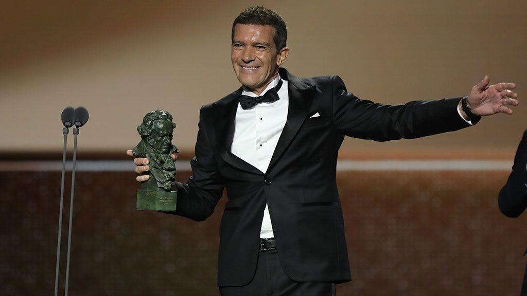 Antonio Banderas, mejor actor protagonista de los Goya 2020
