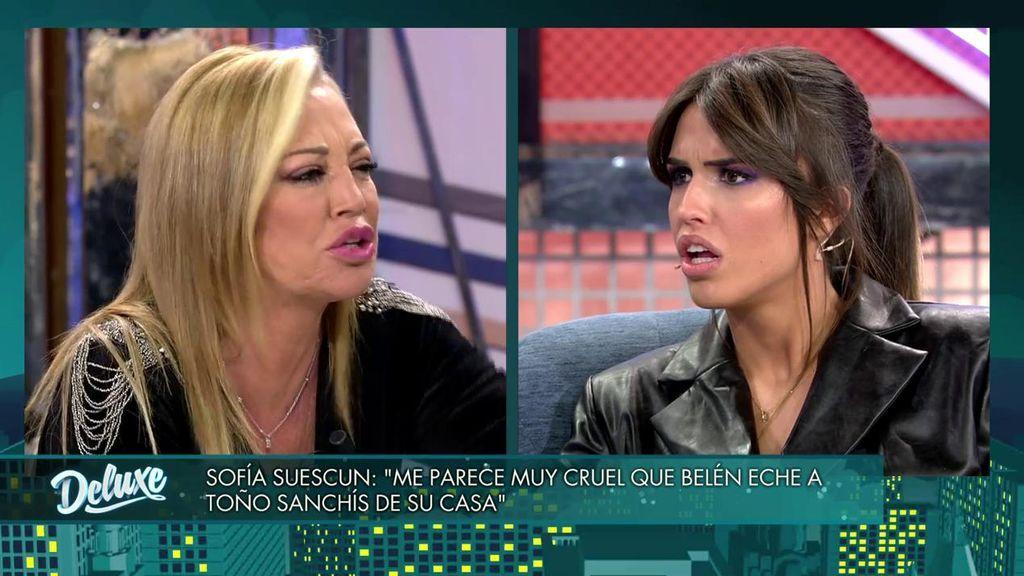 "La épica lluvia de zascas entre Belén Esteban y Sofía Suescun: ""¿Quién te crees que eres?"""