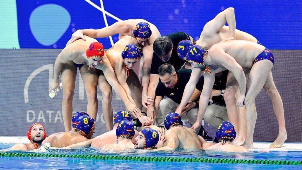 España se proclama subcampeona de Europa de waterpolo ante Hungría