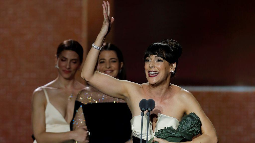 Belén Cuesta recibe el Goya a mejor actriz protagonista