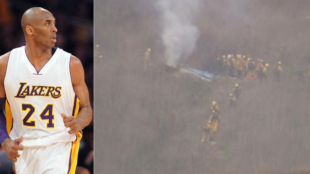 Imágenes en directo del lugar del accidente en el que ha muerto Kobe Bryant