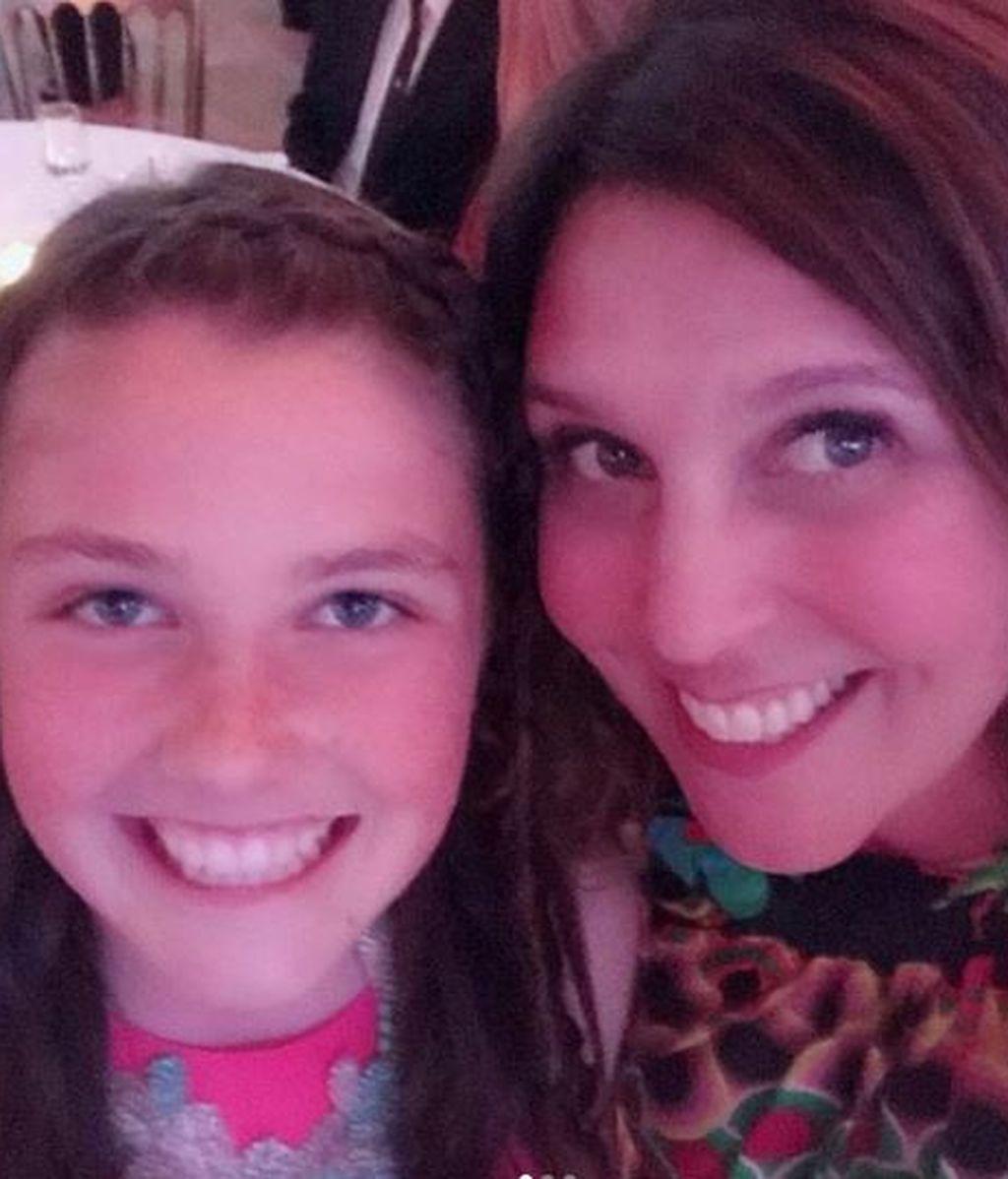 Sarah Chester y su hija Payton