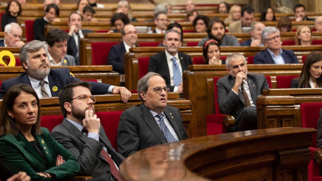 El Parlament rechaza por primera vez sus propios presupuestos