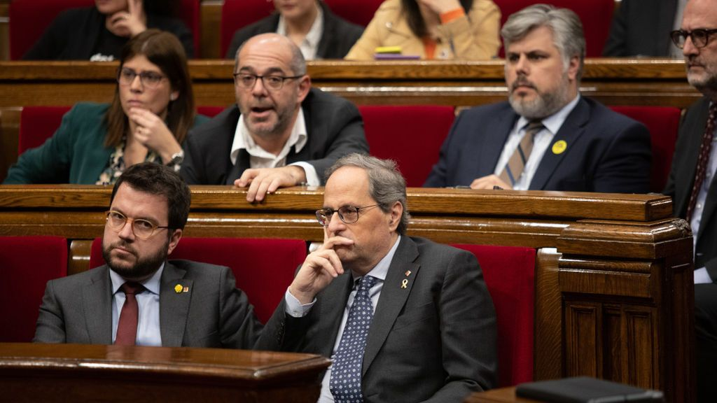 La ruptura entre Torra y ERC bloquea la legislatura
