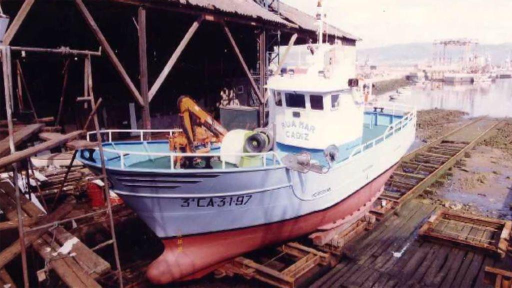 Detectan el pecio de un barco de características similares a las del Rúa Mar