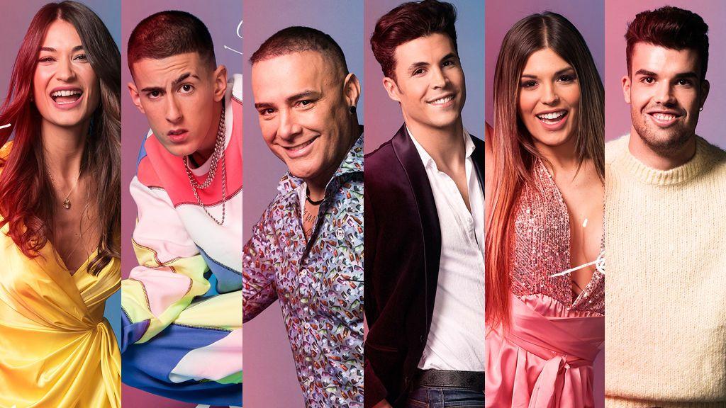 Dinio, Pol, El Cejas, Nuria, Kiko y Estela, nominados