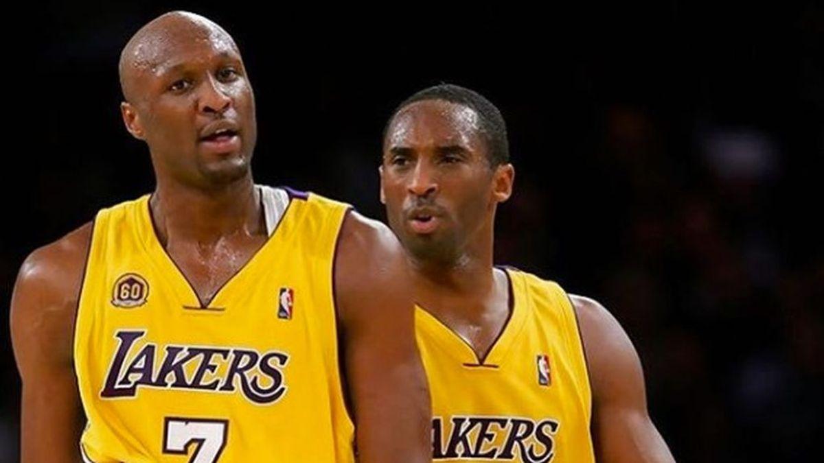 """El mensaje de Lamar Odom a Kobe Bryant: """"Sigo esperando a que los medios digan que es mentira"""""""