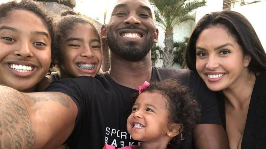 Vanessa y sus tres pequeñas, la familia de Kobe por la que llora todo Estados Unidos