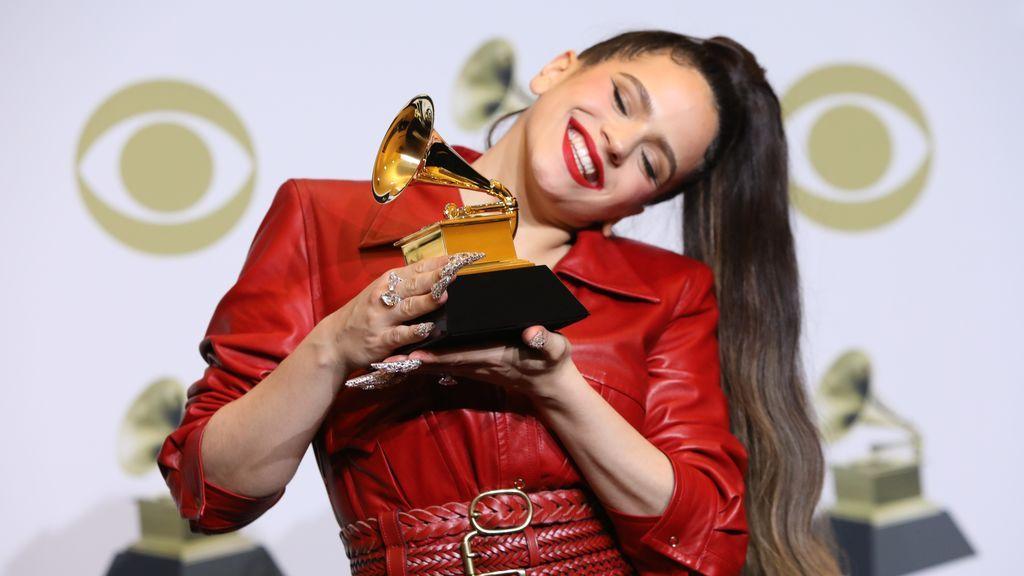Rosalía gana su primer Grammy en una gala marcada por el recuerdo a Kobe Bryant