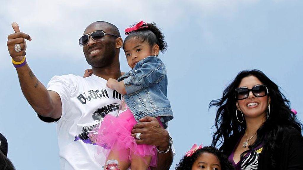 Kobe y su familia
