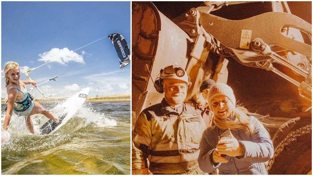 Una kitesurfista se salva de morir congelada gracias a un 'match' en Tinder