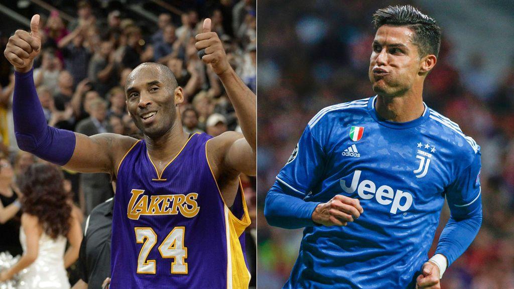 Cristiano Ronaldo y Luis Figo publican el mismo mensaje de despedida a Kobe Bryant