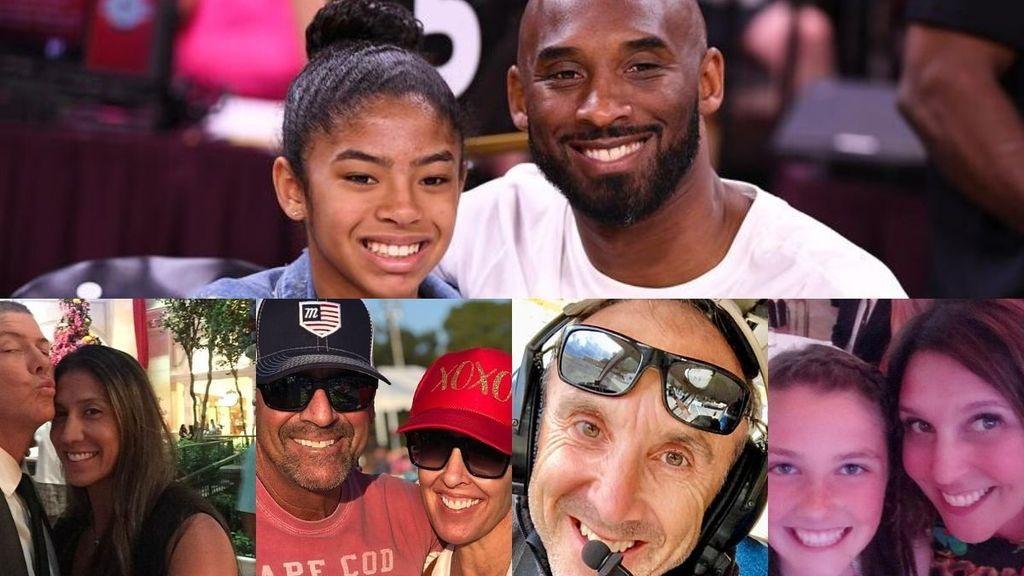 Identifican a las nueve víctimas del helicóptero donde ha fallecido Kobe Bryant