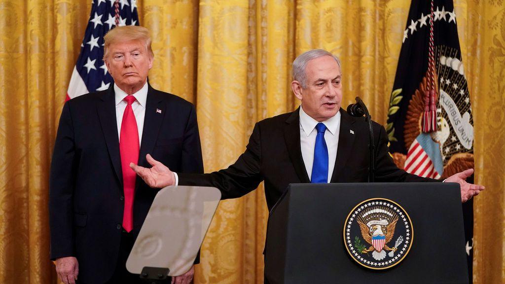 """Trump presenta su 'acuerdo del siglo': Jerusalén como capital """"indivisible"""" de Israel y un Estado palestino"""