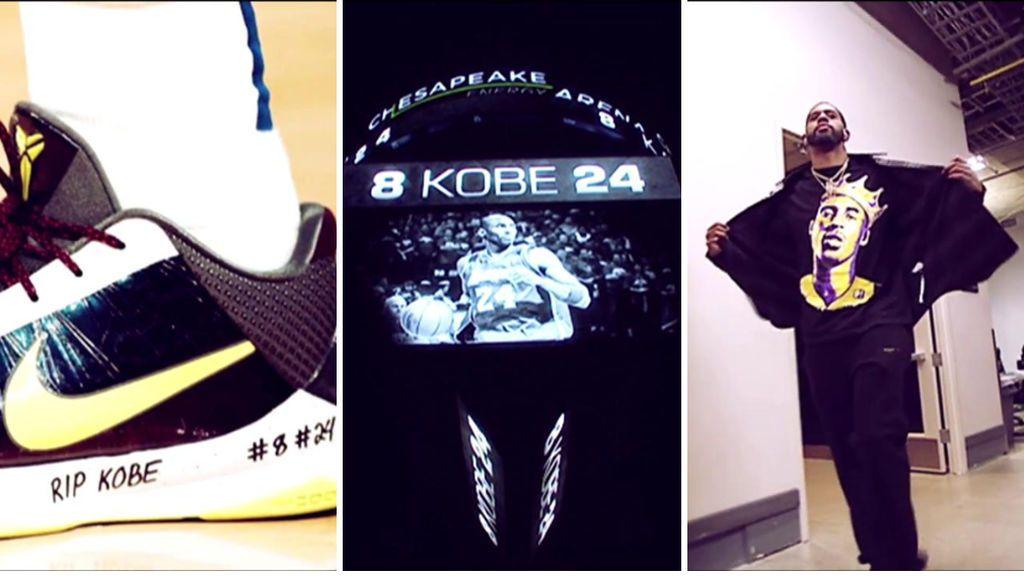De las zapatillas de Doncic, a las camisetas con su cara: todos los equipos de la NBA rinden homenaje a Kobe Bryant