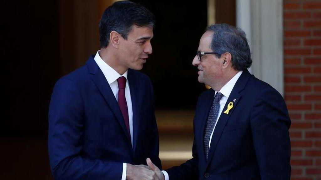 Pedro Sánchez se reunirá el 6 de febrero con Torra, porque sigue siendo presidente