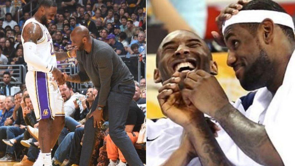 """LeBron James, destrozado por la pérdida de Kobe Bryant: """"Es mi responsabilidad cargarme esta mierda a la espalda y seguir. Dame fuerzas desde el cielo"""""""