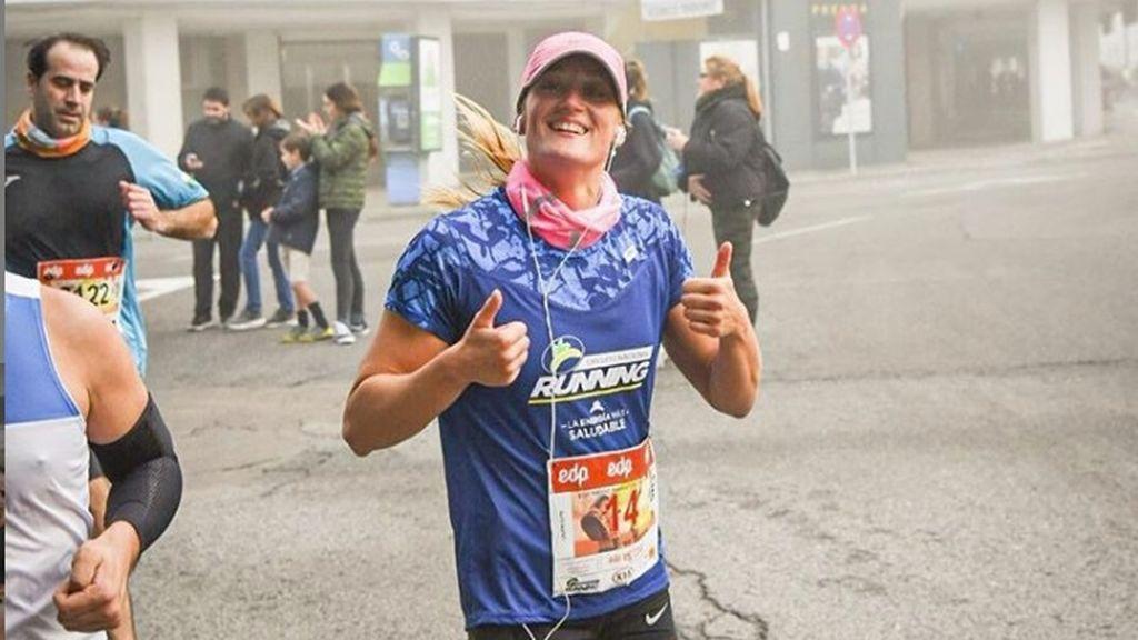 Mireia Belmonte debuta en su primera media maratón con un tiempo de 1 hora, 39 minutos y 30 segundos