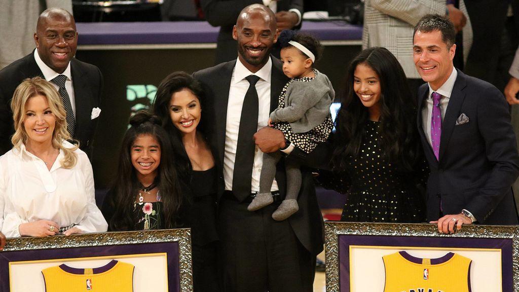 La herencia de más de 600 millones de euros que Kobe Bryant deja a su esposa y sus tres hijas menores