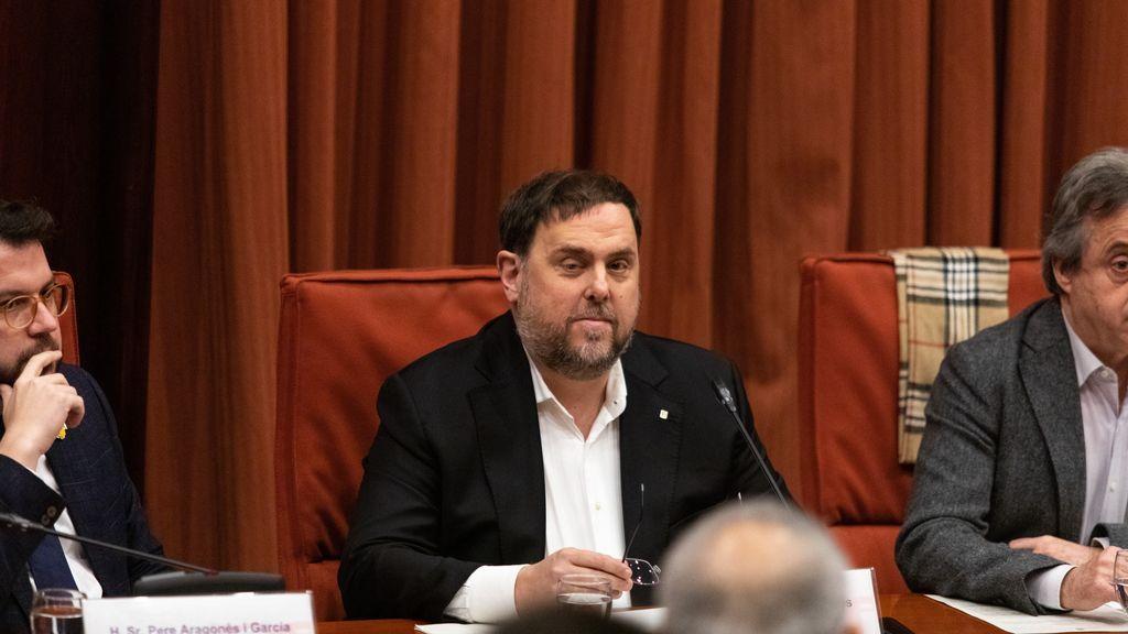 Junqueras cree que el diálogo no puede estar supeditado a la condena de los exconsellers
