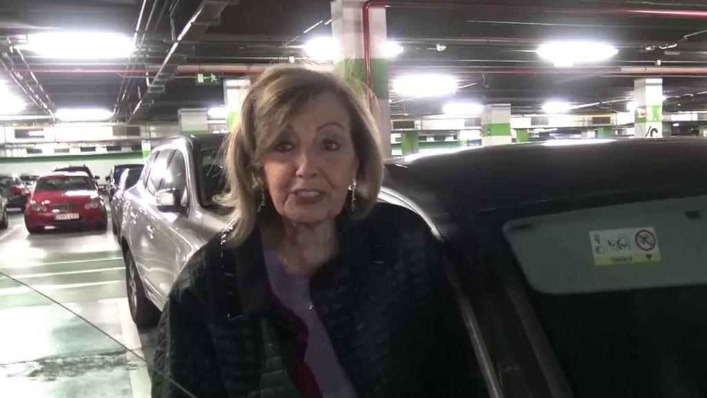 Mª Teresa Campos niega su posible encuentro con Edmundo