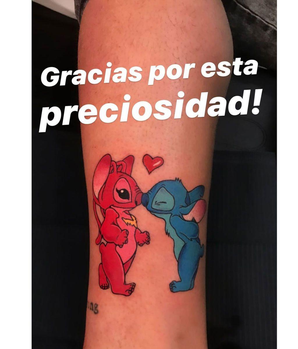 El nuevo tatuaje de Álex Bueno