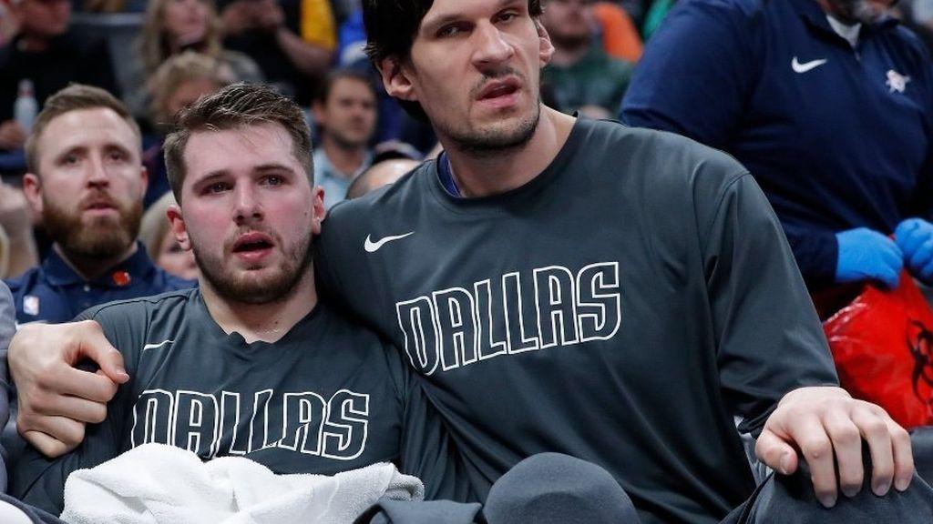 """Luka Doncic no puede contener las lágrimas en el homenaje a Kobe Bryant: """"Todavía no lo puedo creer"""""""