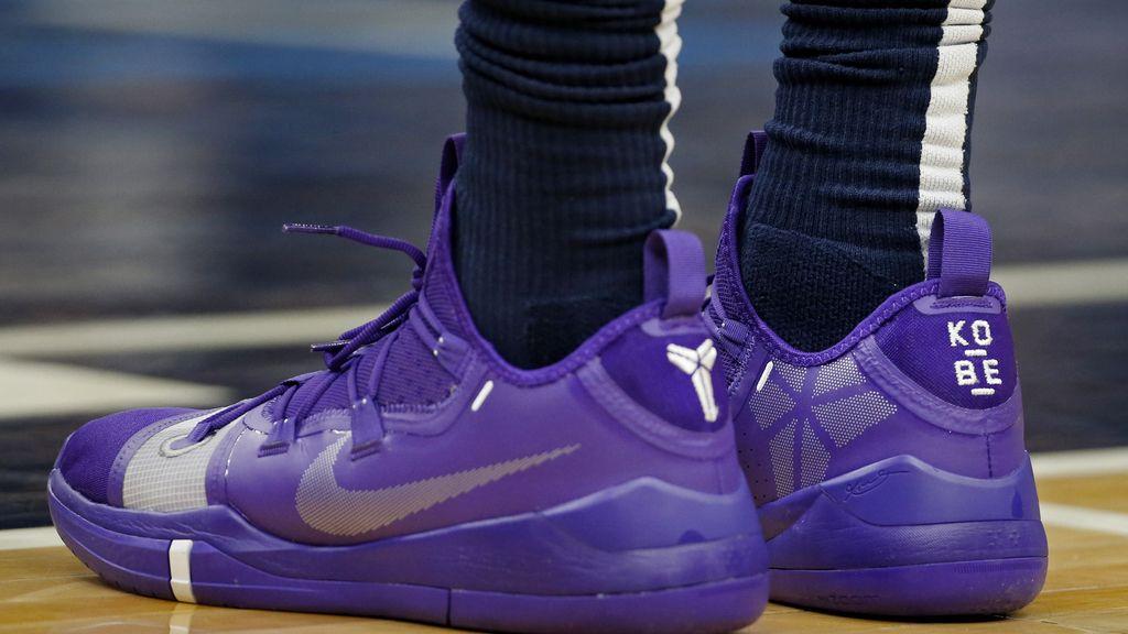 Todas las zapatillas con las que se ha homenajeado a Kobe Bryant en la NBA