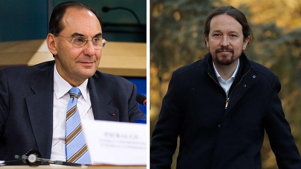 Alejo Vidal-Quadras y Pablo Iglesias
