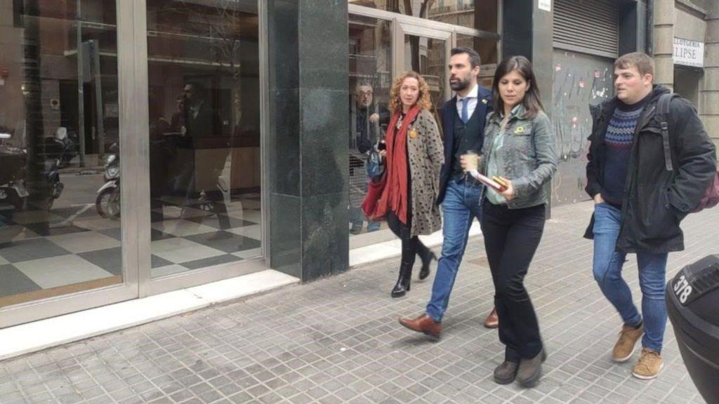 Desconcierto en ERC por la comparecencia de Torra