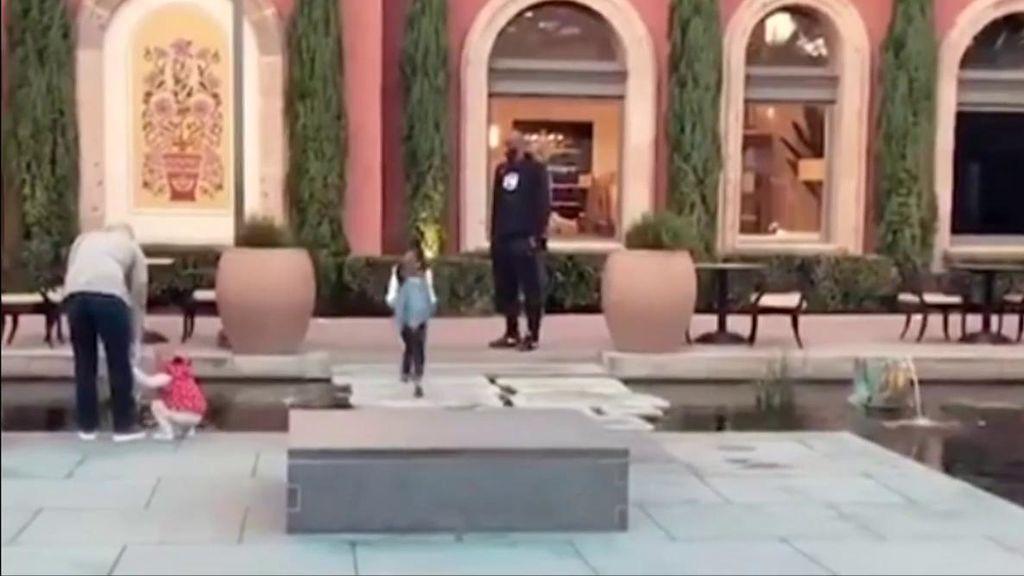 Los últimos momentos de Kobe Bryant jugando con su bebé horas antes de fallecer