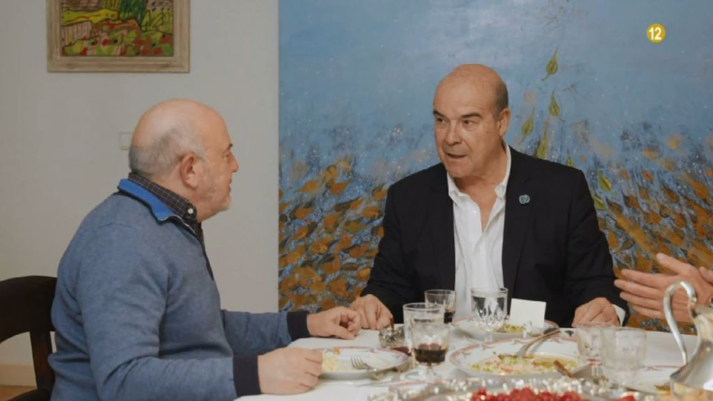 Antonio Resines y Jesús Bonilla, el viernes en 'Mi casa es la tuya'