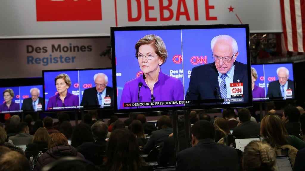 El ´Impeachment´ impide a 4 candidatos demócratas centrarse en los ´caucus´ de Iowa