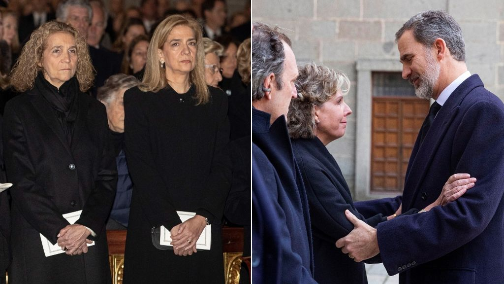De la infanta Cristina a Mariola Orellana: amigos y familia en el funeral de la infanta Pilar de Borbón