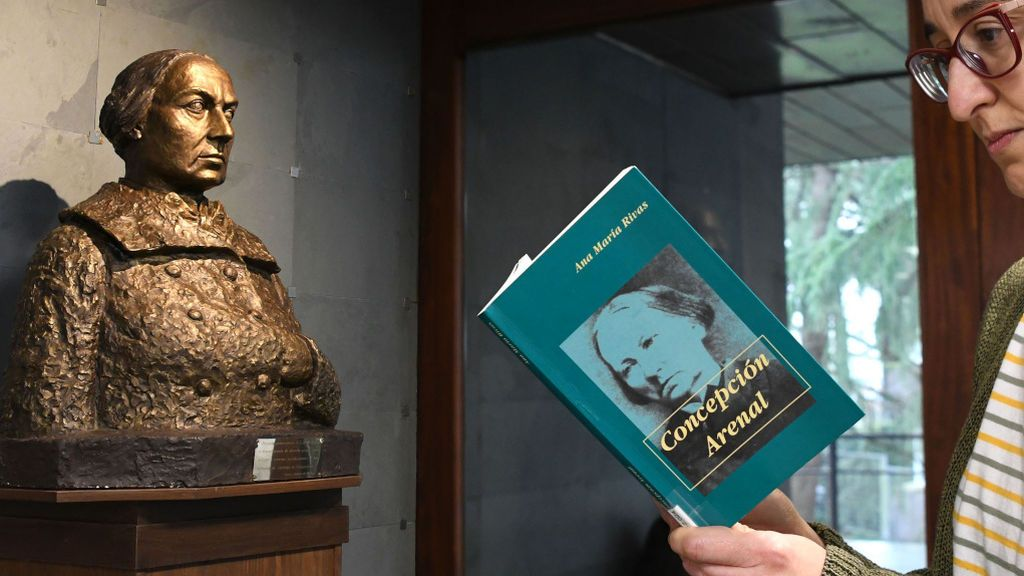 Este viernes se coloca un busto de Concepción Areanal en Santiago de Compostela